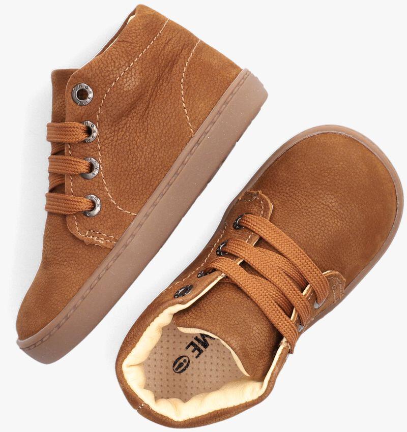 Cognac SHOESME Hoge sneaker FL20W001  - larger