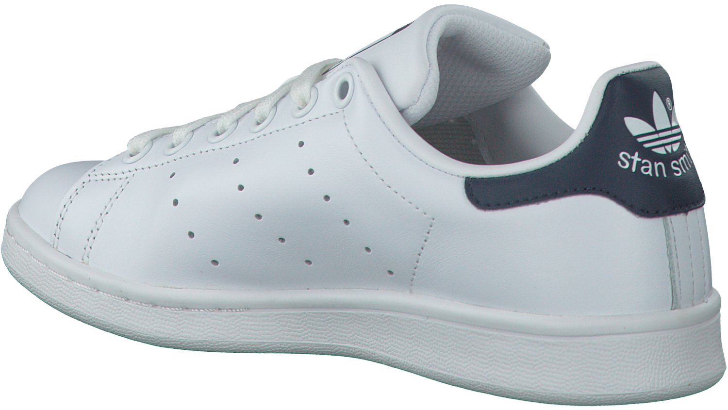 adidas stan smith wit leer