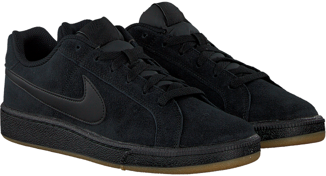 Zwarte NIKE Sneakers COURT ROYALE SUEDE MEN - large