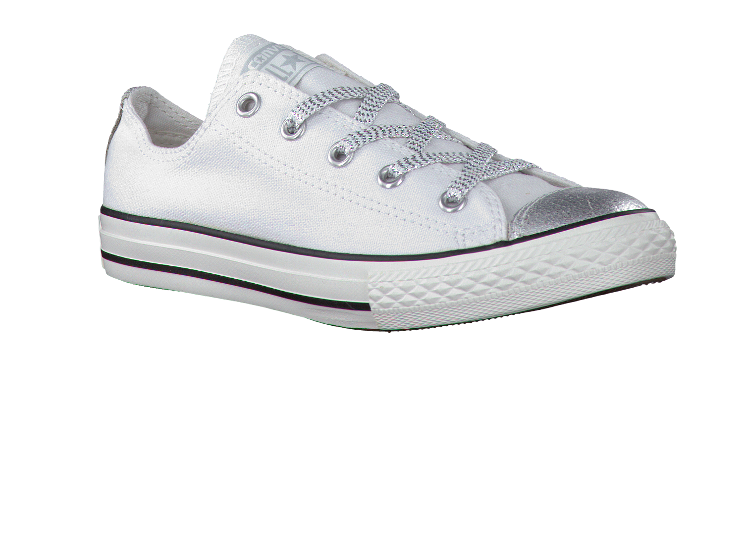 ebe6771c878 Witte CONVERSE Sneakers AS GLAMOUR ROCK OX - Omoda.nl
