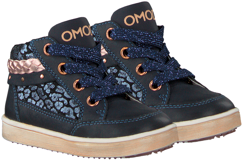 Blauwe OMODA Veterboots OM120501  - larger