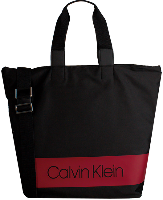 CALVIN KLEIN SCHOUDERTAS BLOCK OUT SHOPPER - large