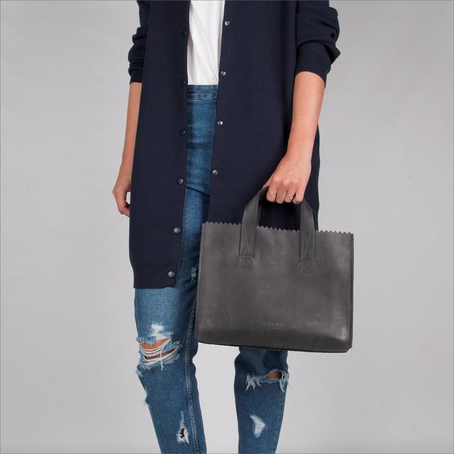 Zwarte MYOMY Handtas MY PAPER BAG HANDBAG CROSS-BODY - large