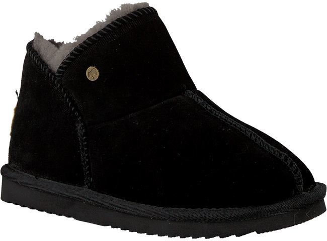 Zwarte WARMBAT Pantoffels WILLOW - large