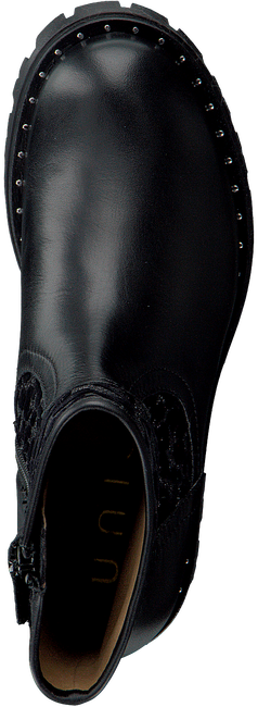 Zwarte UNISA Enkellaarsjes PEGASO_CL_ST - large