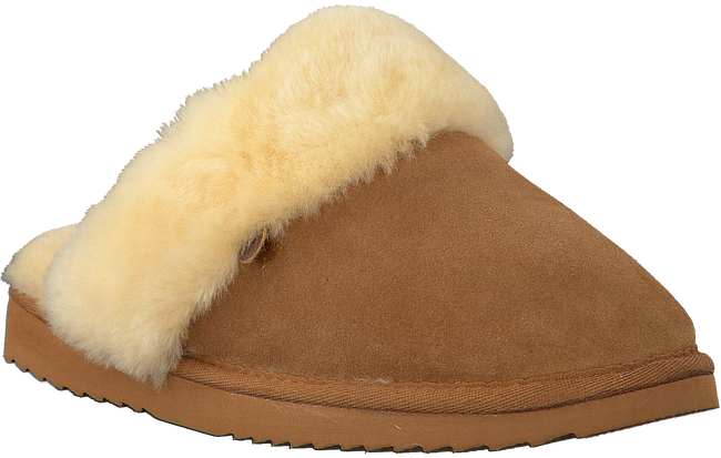 Cognac WARMBAT Pantoffels FLURRY WOMEN SUEDE  - large