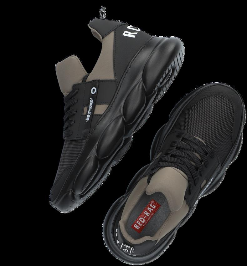 Beige RED-RAG Lage sneakers 13527  - larger