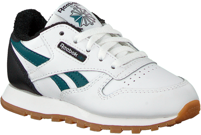 Witte REEBOK Lage sneakers CLASSIC LEATHER KIDS - large