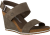 Groene TIMBERLAND Sandalen CAPRI SUNSET WEDGE - small