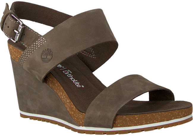 Groene TIMBERLAND Sandalen CAPRI SUNSET WEDGE - large