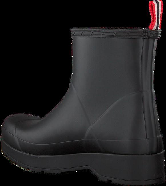 Zwarte HUNTER Regenlaarzen MENS ORIGINAL PLAY BOOT SHORT  - large