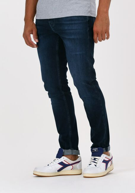 Blauwe 7 FOR ALL MANKIND Slim fit jeans SLIMMY TAPERED LUXE PERFORMANC - large