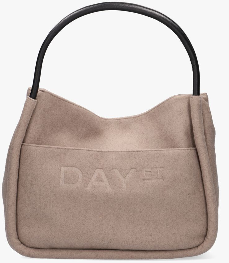 Taupe DAY ET Shopper SMALL SHOPPER  - larger