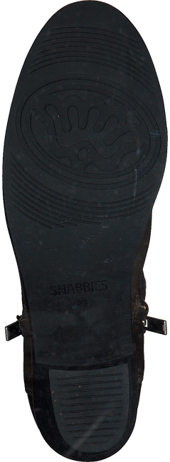 Grijze SHABBIES Enkellaarsjes 182020109  - large