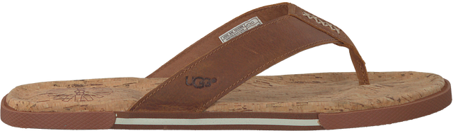 Cognac UGG Slippers BRAVEN  - large