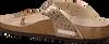 Roségouden BIRKENSTOCK PAPILLIO Slippers GIZEH METALLIC STONES  - small