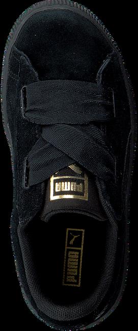 Zwarte PUMA Sneakers SUEDE HEART SNK PS  - large