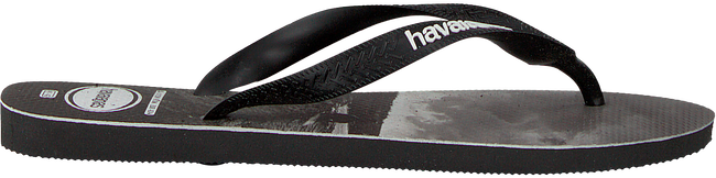 Zwarte HAVAIANAS Slippers TOP PHOTOPRINT  - large