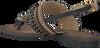 Zwarte LAZAMANI Sandalen 33.630  - small