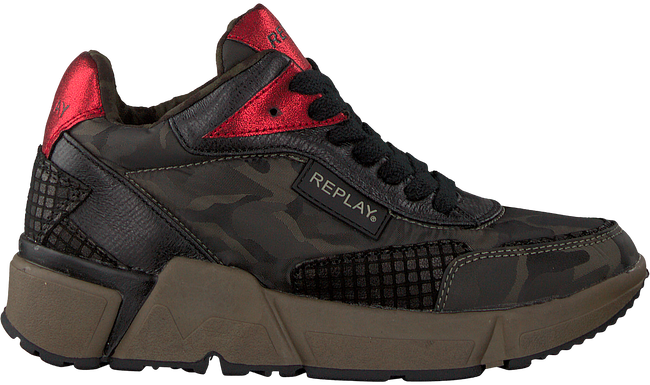 Groene REPLAY Sneakers RS950007S SPARTA - large