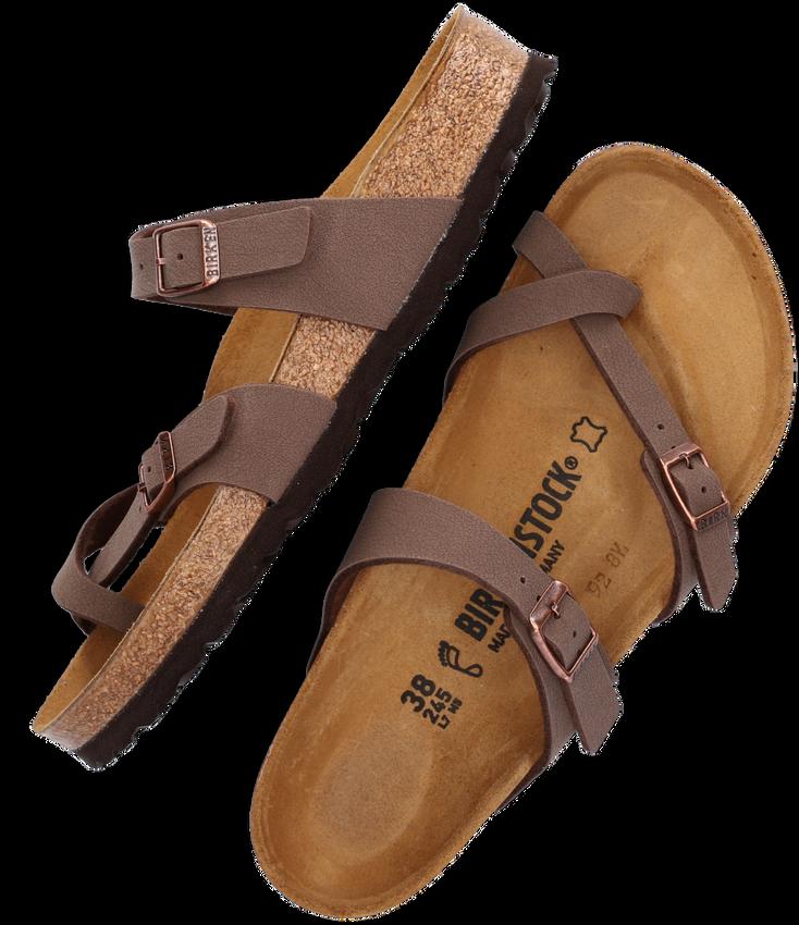 Bruine BIRKENSTOCK PAPILLIO Slippers MAYARI  - larger