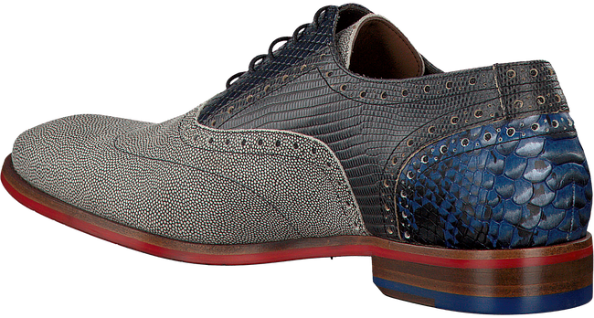 Grijze FLORIS VAN BOMMEL Nette schoenen 19114  - large