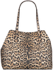 Beige GUESS Handtas VIKKY TOTE  - small