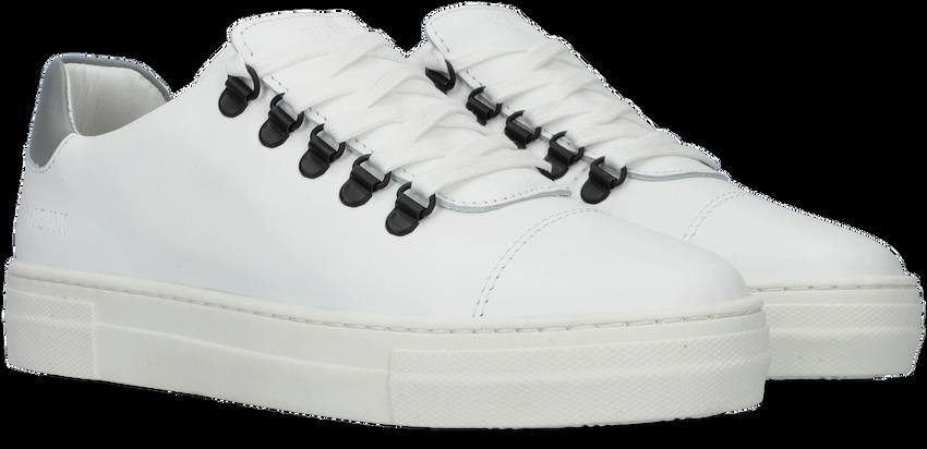 Witte NUBIKK Lage sneakers JAGGER CLASSIC JR  - larger