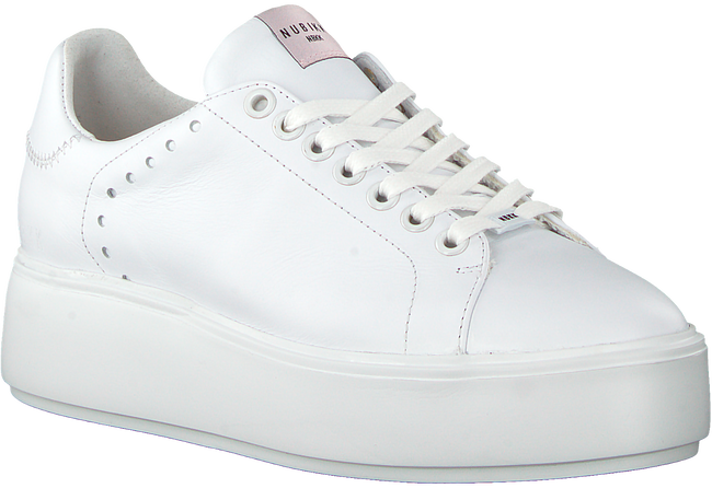 Witte NUBIKK Sneakers ELISE PERFO  - large