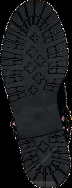 Zwarte NIKKIE Veterboots STONE BOOTS  - large