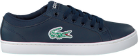 Blauwe LACOSTE Sneakers STRAIGHTSET LACE 118 1 CAC  - medium