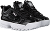 Zwarte FILA Lage sneakers DISRUPTOR KIDS  - small