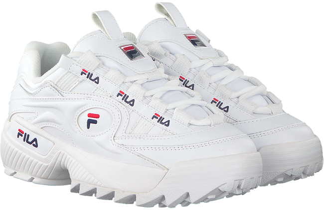 Witte FILA Sneakers D-FORMATION WMN  - large