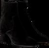 Zwarte FRED DE LA BRETONIERE Enkellaarsjes 183010050 - small