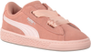 Roze PUMA Sneakers SUEDE HEART JEWEL INF  - small