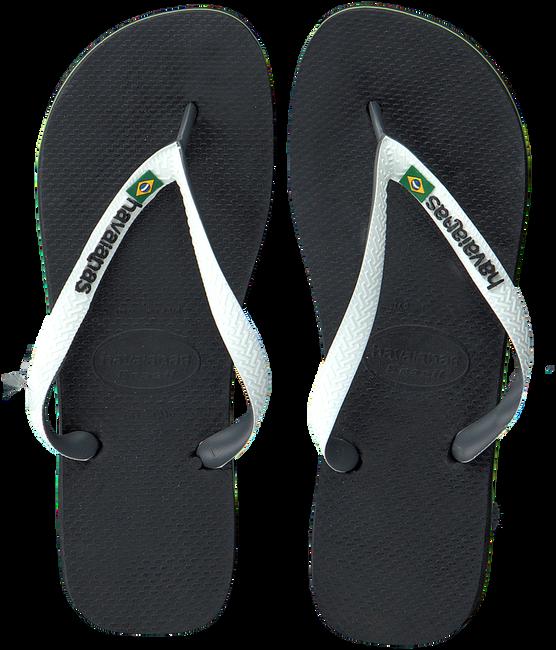 Zwarte HAVAIANAS Slippers BRASIL MIX - large