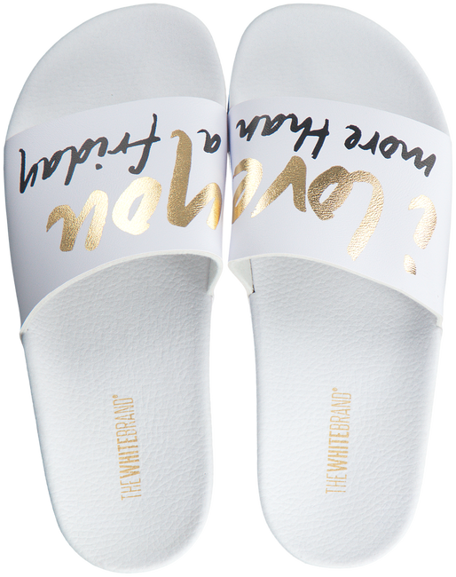 Witte THE WHITE BRAND Slippers FRIDAY  - large