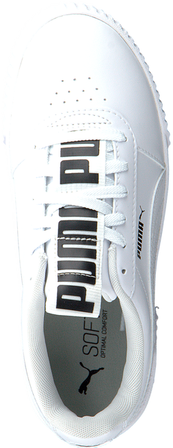 Witte PUMA Lage sneakers CARINA BOLD  - large