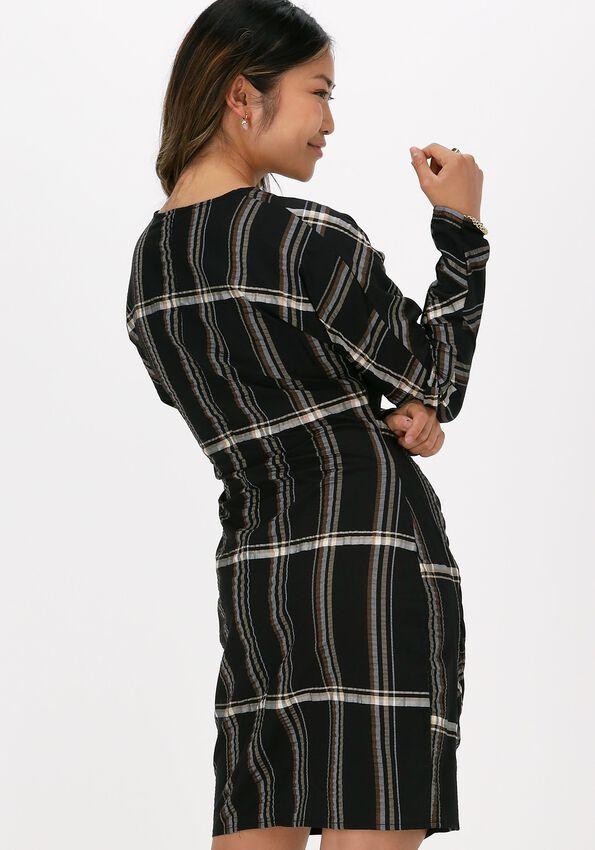 Zwarte JUST FEMALE Mini jurk CASSIO DRESS - larger