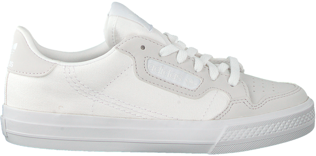 Witte ADIDAS Lage sneakers CONTINENTAL VULC C  - large