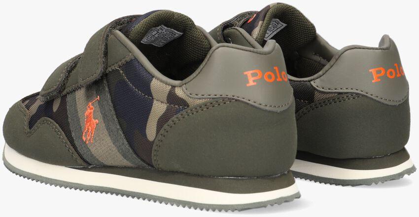 Groene POLO RALPH LAUREN Lage sneakers KELLAND EZ  - larger