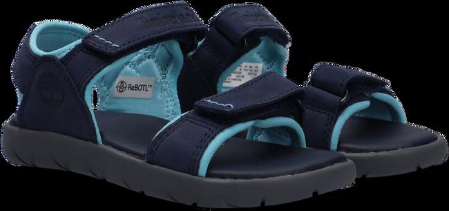 Blauwe TIMBERLAND Sandalen NUBBLE SANDAL LTHR 2 STRAP  - large