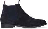 Blauwe TOMMY HILFIGER Chelsea boots CASUAL SUEDE  - medium