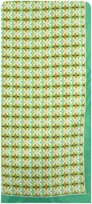 Groene ROMANO SHAWLS AMSTERDAM Sjaal 85611  - large
