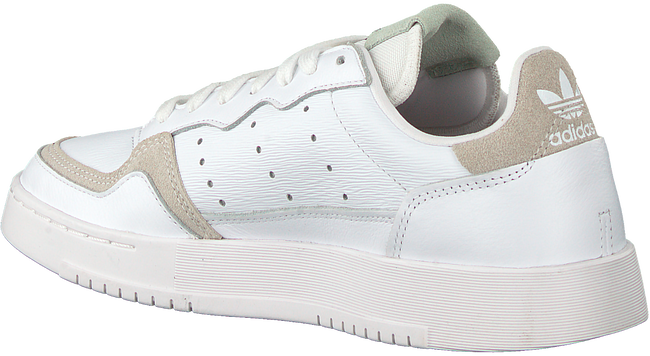 Witte ADIDAS Lage sneakers SUPERCOURT W  - large