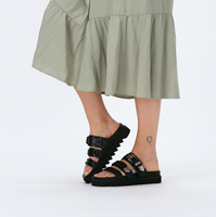 Zwarte NUBIKK Slippers LAUREN TARO II  - medium
