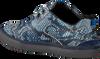Blauwe FLORIS VAN BOMMEL Sneakers 14422 - small