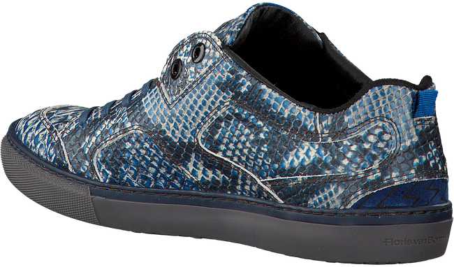 Blauwe FLORIS VAN BOMMEL Sneakers 14422 - large