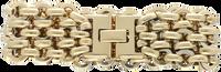 Gouden NOTRE-V Armband ARMBAND BREDE SCHAKEL  - medium