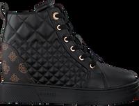Zwarte GUESS Hoge sneaker FASE  - medium